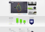 NikePlus dashboard