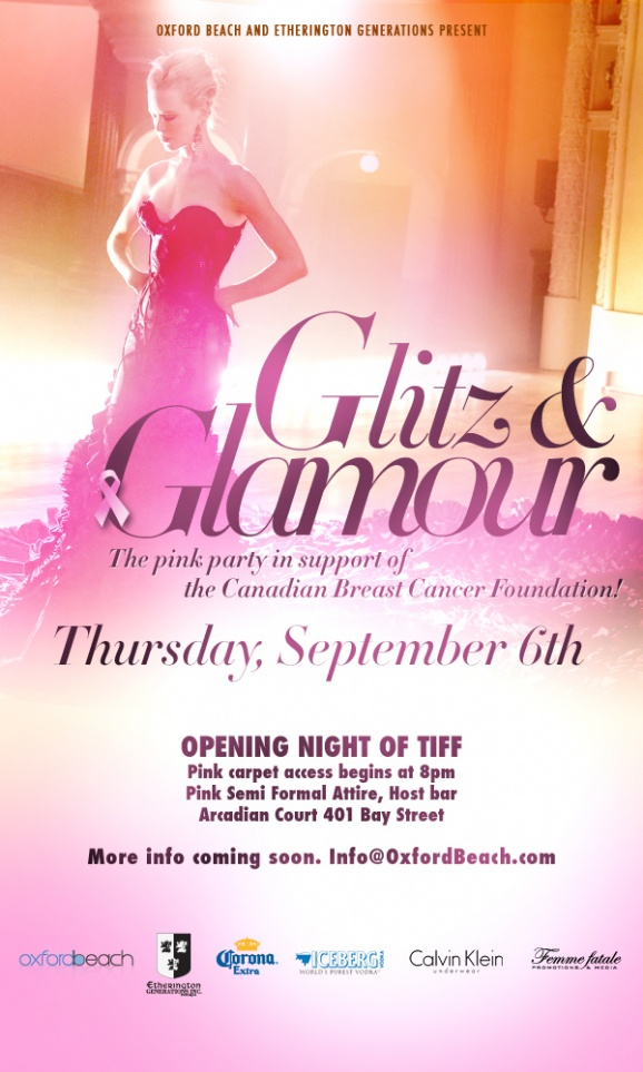 TIFF Opening Party: Glitz & Glamour Breast Cancer Fundraser ...