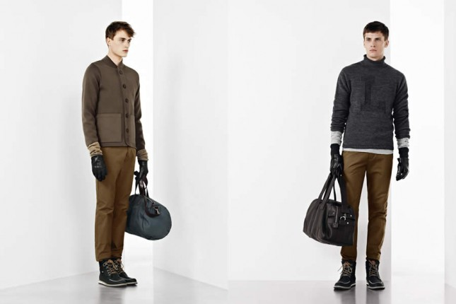 Lacoste Fall Winter 2012 Color Blocking Men S Lookbook Dapper And Gent For Him