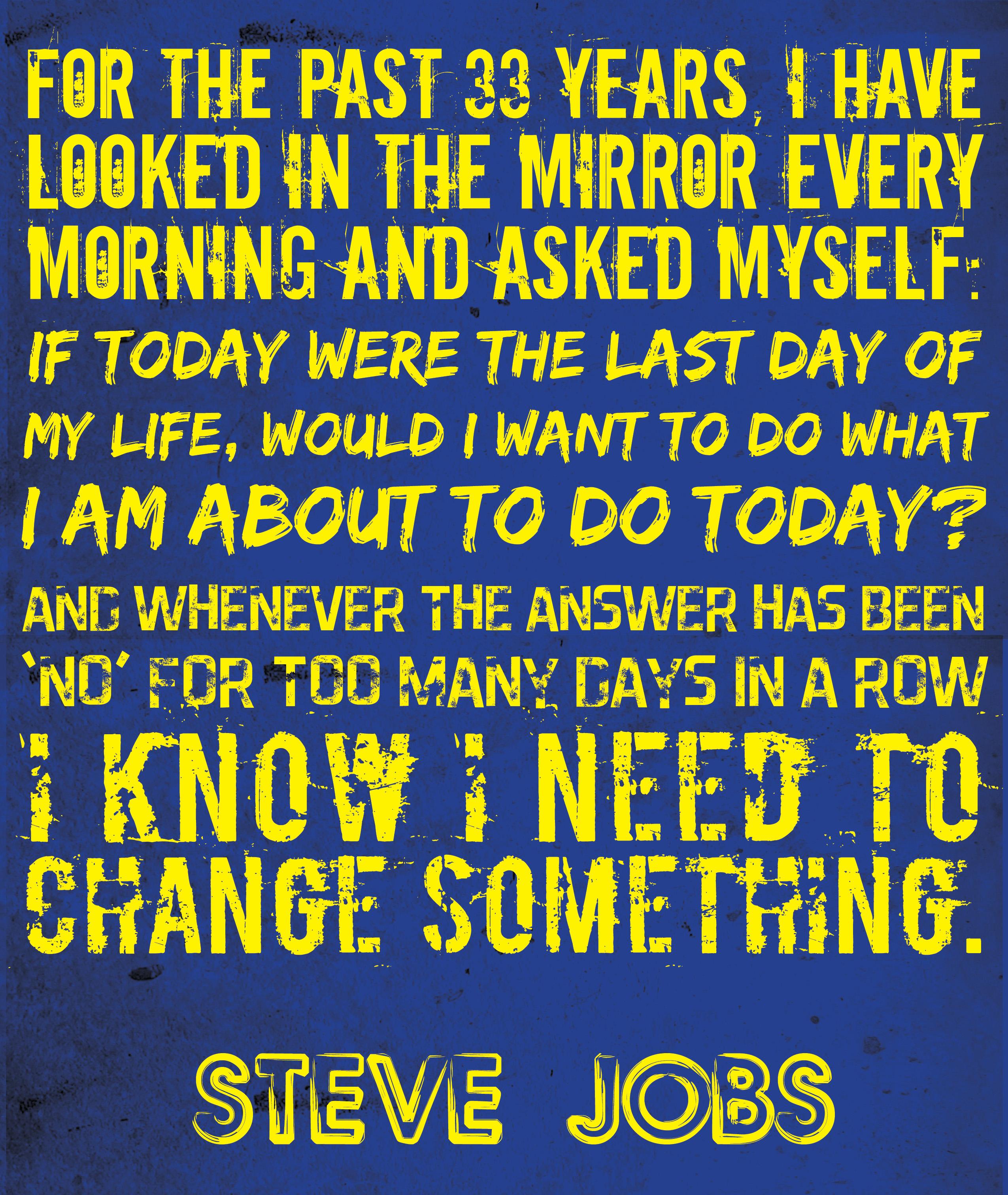 inspirational quotes steve job dapper and gent