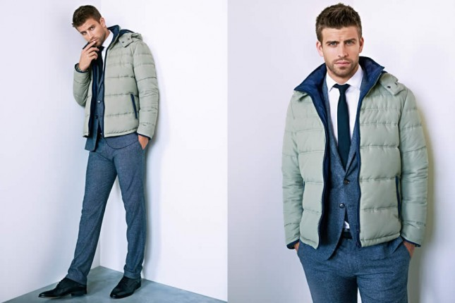 Gerard Piqu For H E By Mango Fall Winter 2012 Men S Lookbook Dapper And Gent