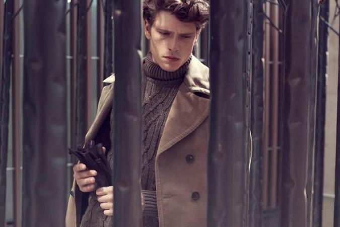 David Mayer Naman FW2012 Men's Lookbook