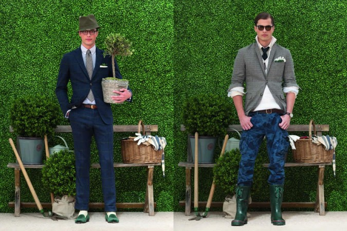 GANT by Michael Bastian Cruise Collection 2012 Men's Lookbook