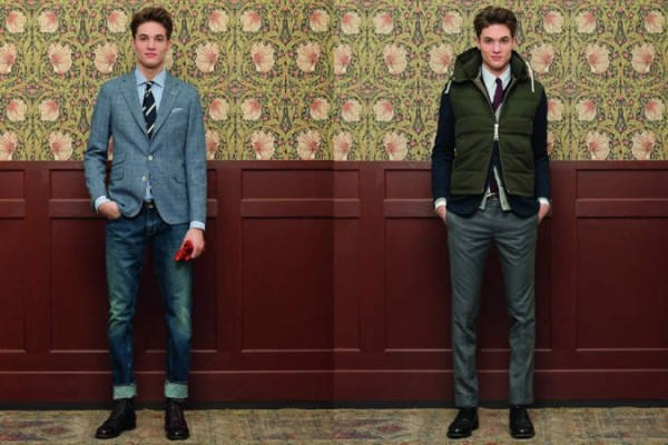 GANT Rugger Holiday Collection 2012 Men's Lookbook