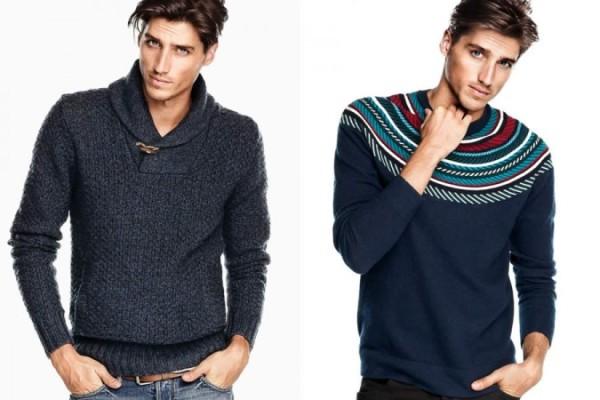 H&M Winter 2012 Update Men's Lookbook
