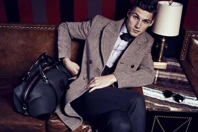 Park and Bond FW2012 Elegance With An Edge Men's Lookbook