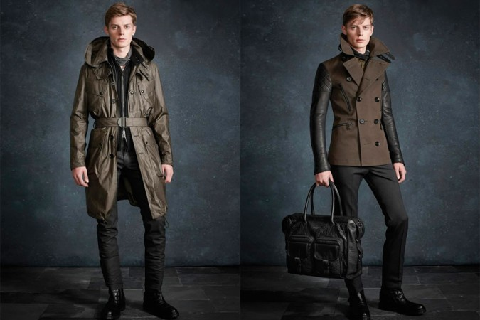 Belstaff Pre-Fall 2013 Men's Lookbook