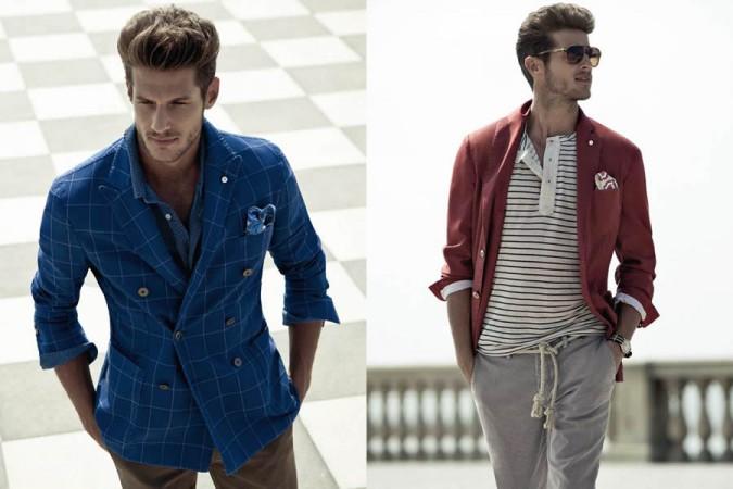 How to Dress Down a Blazer : malefashionadvice
