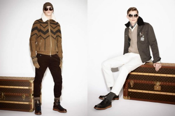 Louis Vuitton FW2013 Pre-Collection Men's Lookbook