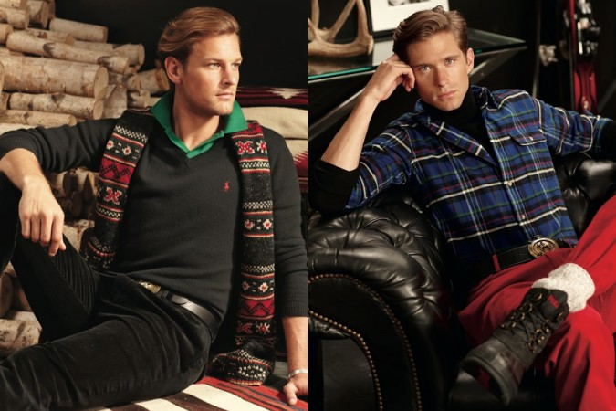 Polo Ralph Lauren Holiday 2012 Advertising Campaign