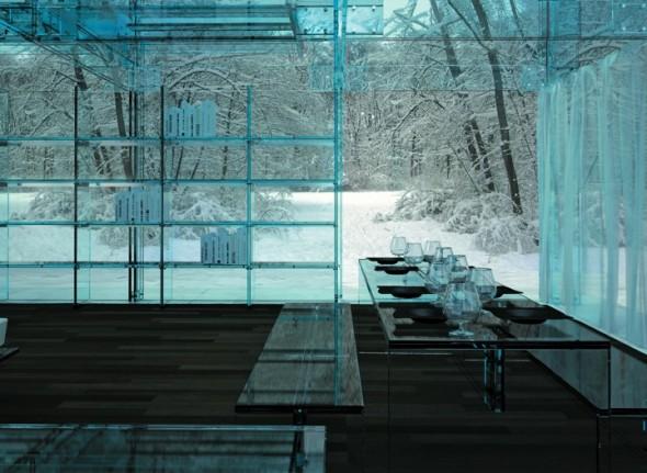 Snow House by Santambrogio