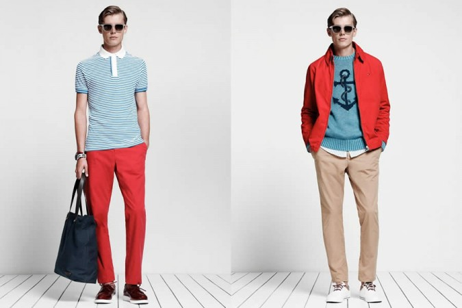 Tommy Hilfiger Sportswear SS2013 Men's Lookbook