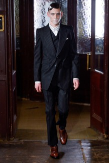 London Collections Men Alexander McQueen FW20131