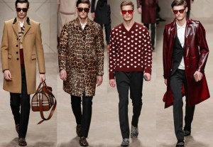 Milan Men's Collection Fall 2013 Burberry