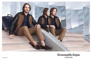Ermenegildo Zegna SS2013 Advertising Campaign