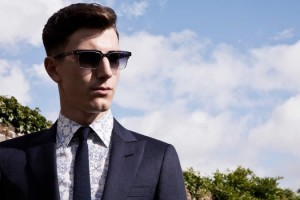 Hardy Amies SS13 Signature Eyewear Sunglasses Men's Lookbook